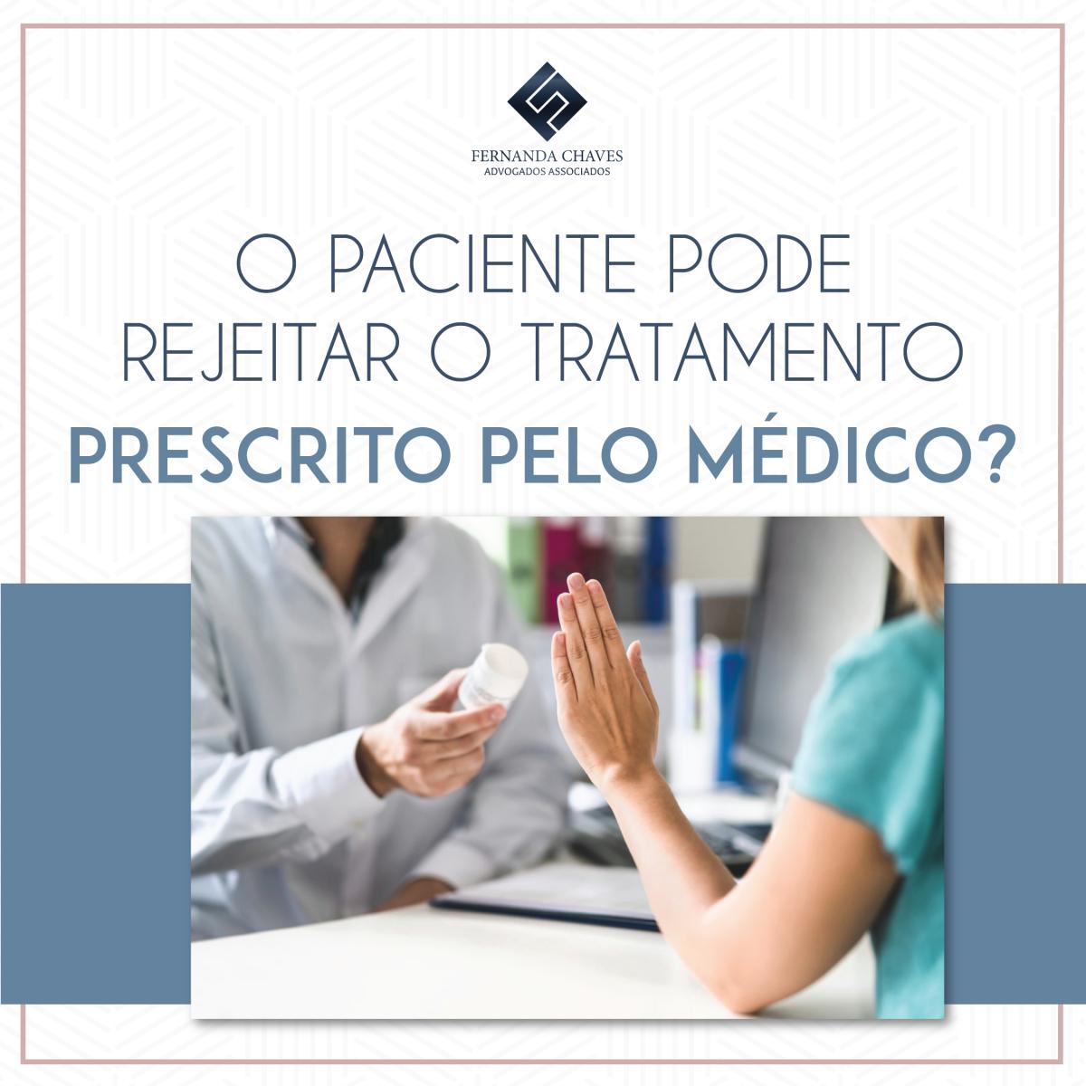paciente rejeita médico
