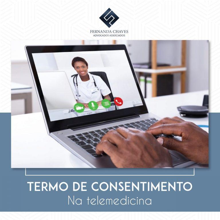 Termo de consentimento telemedicina