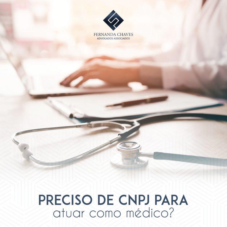 médico precisa de CNPJ para atender